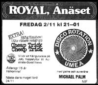 Annons micke palm på royal ånsäet
