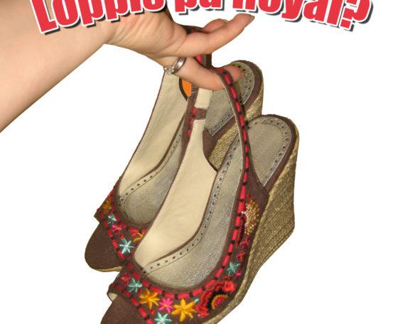 loppis på royal i ånäset. bild fina skor